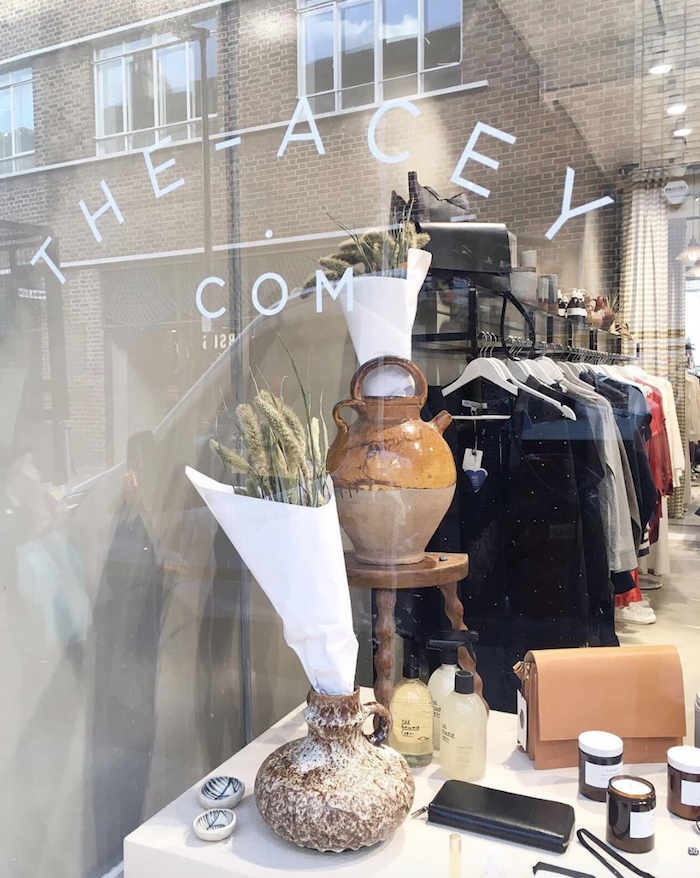 The Acey winter pop-up store in Shoreditch